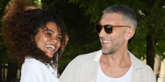 Le couple Tina Kunakey et Vincent Cassel
