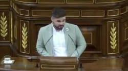 La reprimenda de Noelia Vera a Gabriel Rufián tras lo ocurrido en el Congreso: