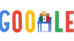 El 'doodle' de Google dedicado a las elecciones en