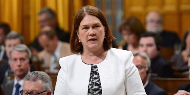 Minister of Health Jane Philpott stands during question period in the House of Commons on Parliament Hill in Ottawa on Tuesday, June 13, 2017.