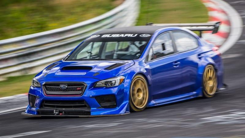 Sti Type Ra >> Subaru Wrx Sti Type Ra Nbr Special Is Nearly As Fast As A