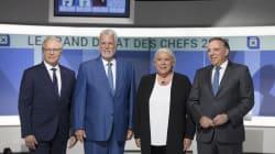 Les chefs se préparent en vue du premier débat télévisé en anglais au