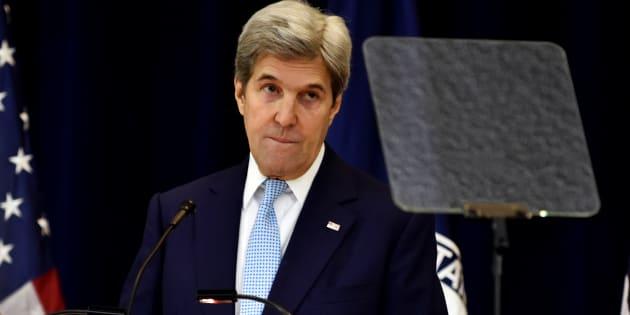 John Kerry à Washington le 28 décembre 2016. REUTERS/James Lawler Duggan     TPX IMAGES OF THE DAY