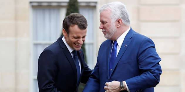 Philippe Couillard rencontrera Emmanuel Macron en France