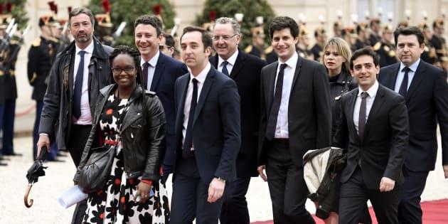 Le cabinet d'Emmanuel Macron n'est vraiment pas paritaire.