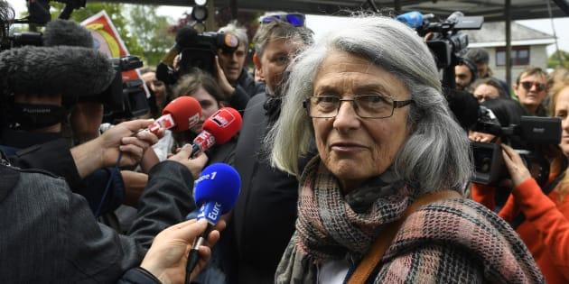 """Le président de la région Bretagne a """"engagé une procédure"""" au sujet d'un message posté par la conseillère régionale Catherine Blein, ici en mai 2017 à Dol-de-Bretagne."""