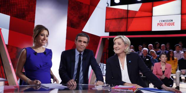 Marine Le Pen était l'invitée de L'Emission politique jeudi 9 février.