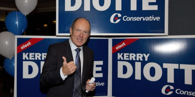 Edmonton Griesbach MP Kerry Diotte Edmonton Griesbach celebrates winning the seat Oct. 19, 2015.