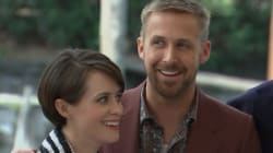 Les images de l'arrivée de Ryan Gosling et Claire Foy à la Mostra de