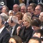 Angela Merkel se burla del gobierno de Trump, pero a Ivanka no le dio