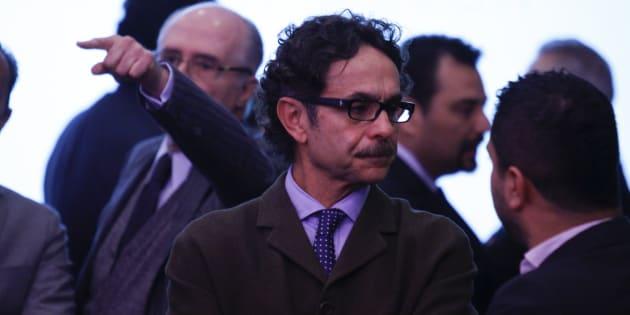 """Gabriel Quadri, ex candidato presidencial, durante la presentación del estudio """"Resultados del estudio de Política Urbana nacional de la OCDE."""