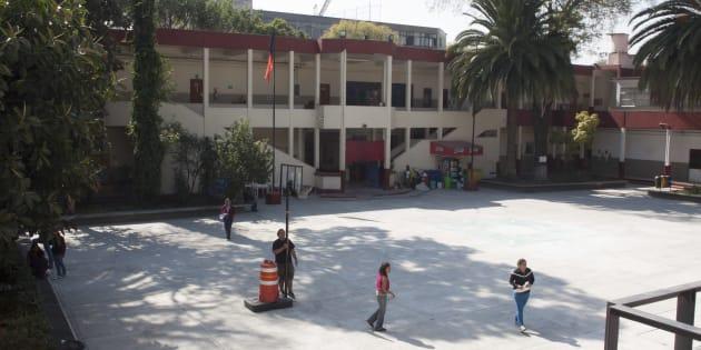 Instalaciones de la Universidad Autónoma de Ciudad de México, campus Colonia del Valle.
