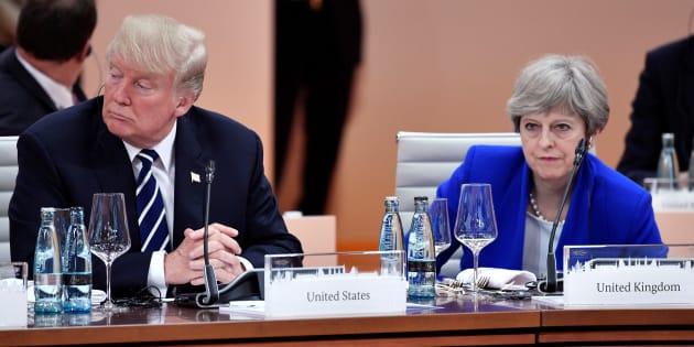 """Attentat de Londres: Les commentaires de Trump ne sont """"d'aucune aide"""", dénonce May"""