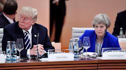 Theresa May Condemns Trump For Defending White