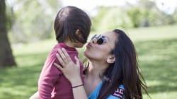 Es bueno o malo darle un beso a tu hijo en la
