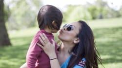 ¿Es malo darle un beso a tu hijo en la