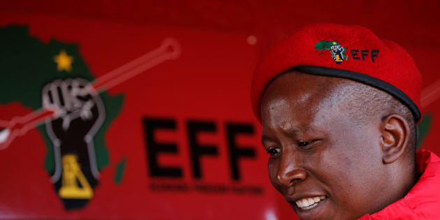 EFF leader Julius Malema.