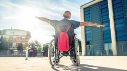 El Senado la regó en este anuncio sobre movilidad y personas con discapacidad
