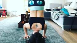 Natasha St-Pier est une véritable yoga