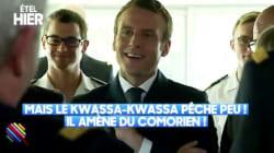 Cette blague douteuse de Macron sur les Comoriens n'est pas