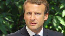 Le dernier message de la visite d'Emmanuel Macron en