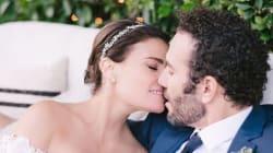Le mariage de princesse d'Idina Menzel, la chanteuse de