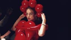 La mannequin Natalia Vodianova transformée en œuvre de Jeff