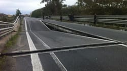 Chiuso ai tir il ponte Allaro, in provincia di Reggio Calabria. L'Anas: