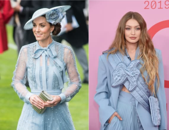 A-listers can't stop wearing powder blue