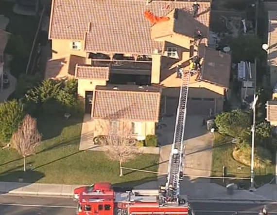 Skydiver killed after landing on roof of home