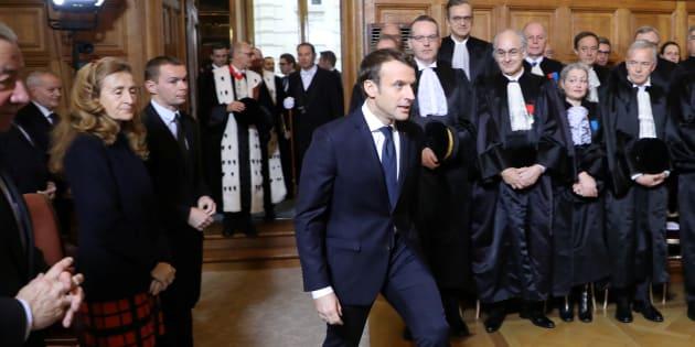 Emmanuel Macron présente une réforme des peines.
