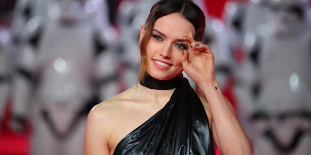 L'actrice Daisy Ridley.