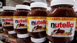 La recette de Nutella n'est plus la