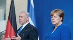 Irán y Palestina enturbian las relaciones entre Merkel y