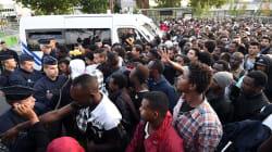Plus de 2700 migrants évacués des campements de la porte de la Chapelle à