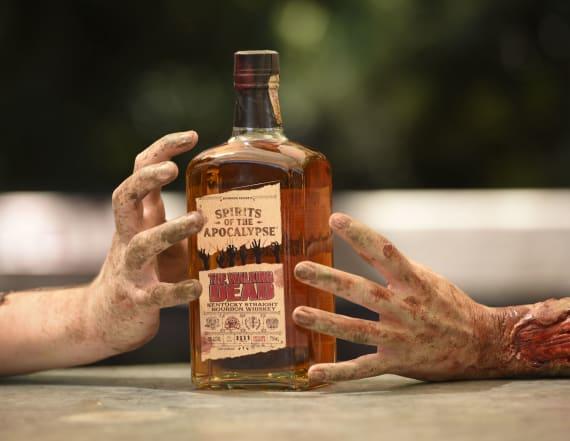 'The Walking Dead' has its own Kentucky bourbon