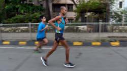 'The Faith Runner' Falls Tragically Short Of 10,000-Kilometre Run