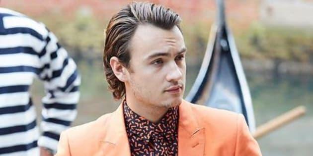 A 21 ans, Brandon Thomas Lee, fils de Pamela Anderson a posé pour Dolce & Gabbana.