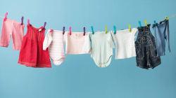 El truco para secar la ropa de los bebés que muchos padres necesitan
