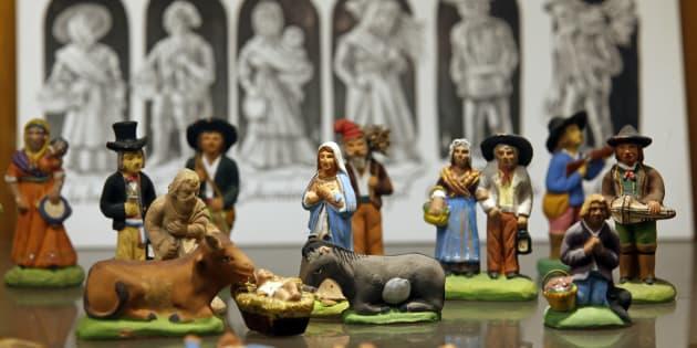 Les Santons de retour ce Noël en Auvergne-Rhône-Alpes, un an après l'interdiction de la crèche de Laurent Wauquiez.