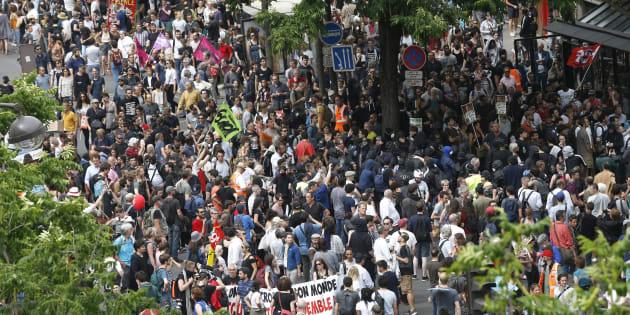 Marée populaire à Paris le 26 mai