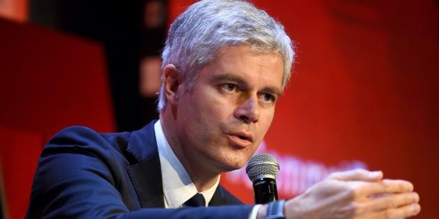 Laurent Wauquiez lors d'une conférence économique à Paris le 6 décembre 2018.