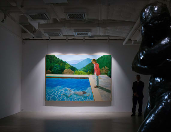 Sale crowns world's most expensive living artist