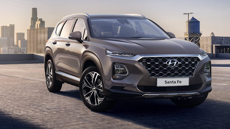 Superb The Redesigned Crossover Makes Its World Premiere Later This Month Ahead Of  Its Official Debut In Geneva. Continue Reading 2019 Hyundai Santa Fe  Production ...