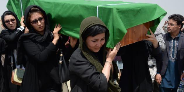 Una mattanza senza fine. Bandiera nera sul mattatoio Afghani