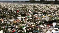 El impactante vídeo de un mar de plástico que te removerá la