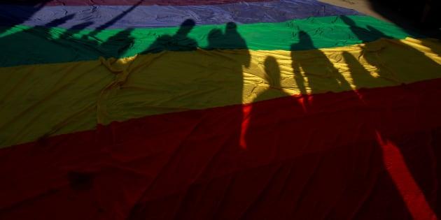 La comunidad LGBTQ+ ha adoptado entre sus comunidades a los asexuales como parte del abanico de diversidad sexual. REUTERS/Jose Luis Gonzalez
