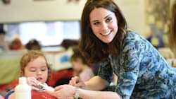Duchess Of Cambridge Launches 'Mentally Healthy Schools' Website To Improve Support For Children In The