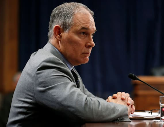 House Democrats ask EPA chief for details on travel