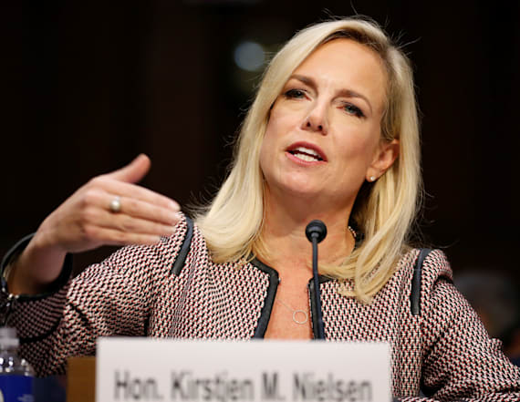 DHS chief: I did not hear Trump use vulgarity